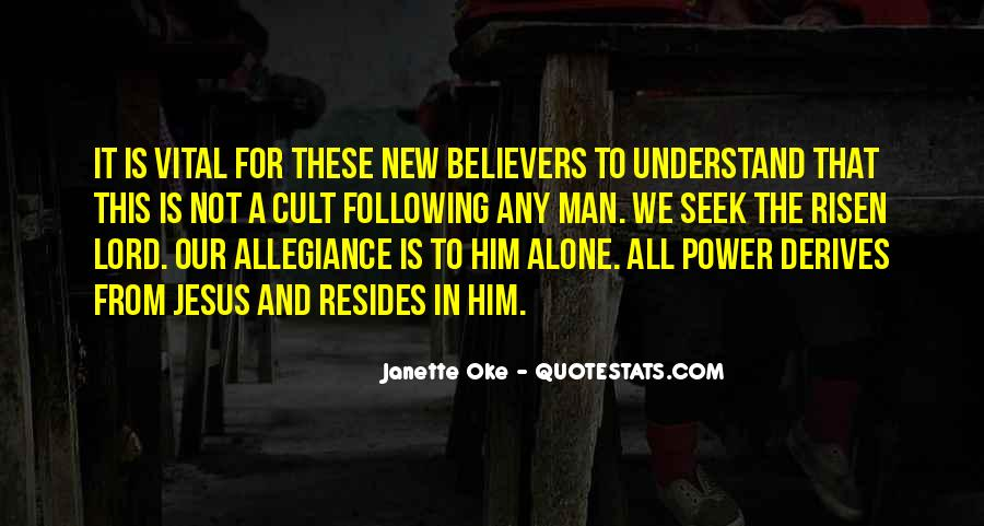Quotes For New Believers #1873132