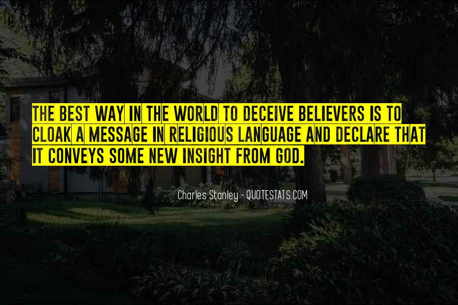 Quotes For New Believers #34064