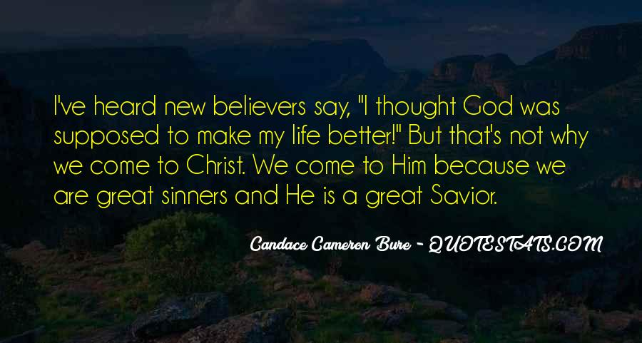 Quotes For New Believers #500526