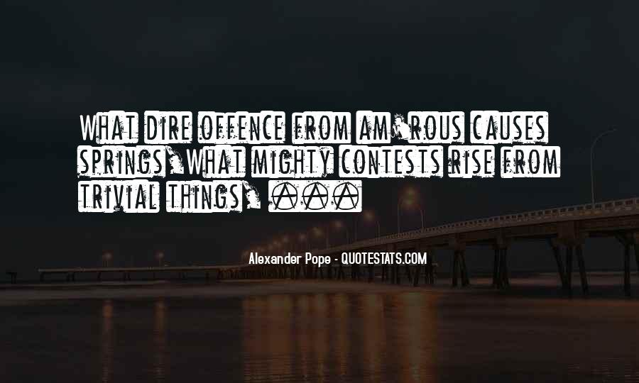 Quotes About Offence #101273