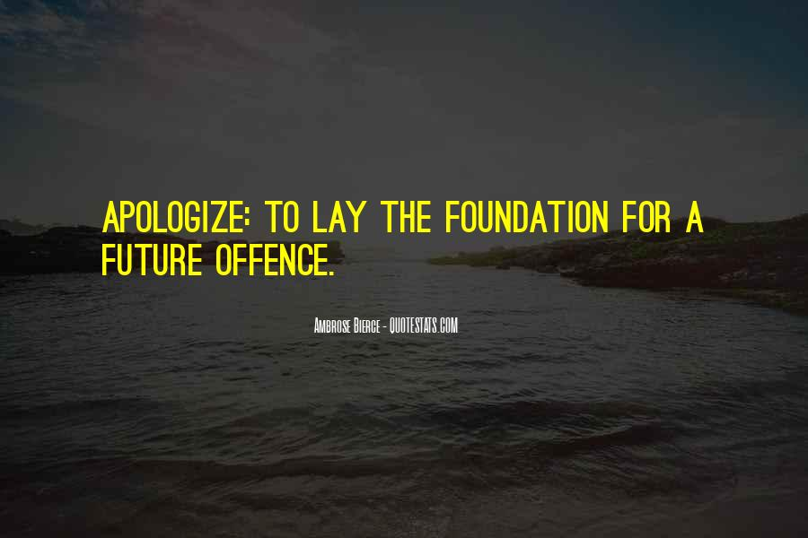 Quotes About Offence #113658
