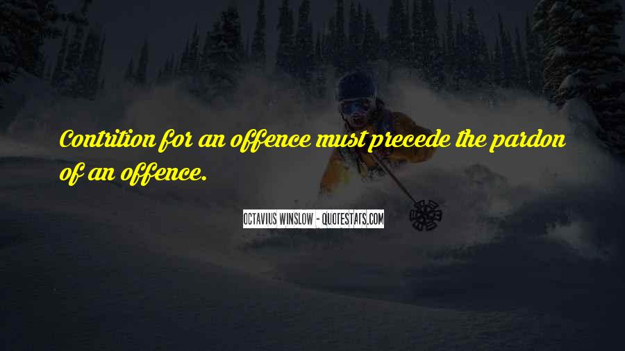 Quotes About Offence #196628