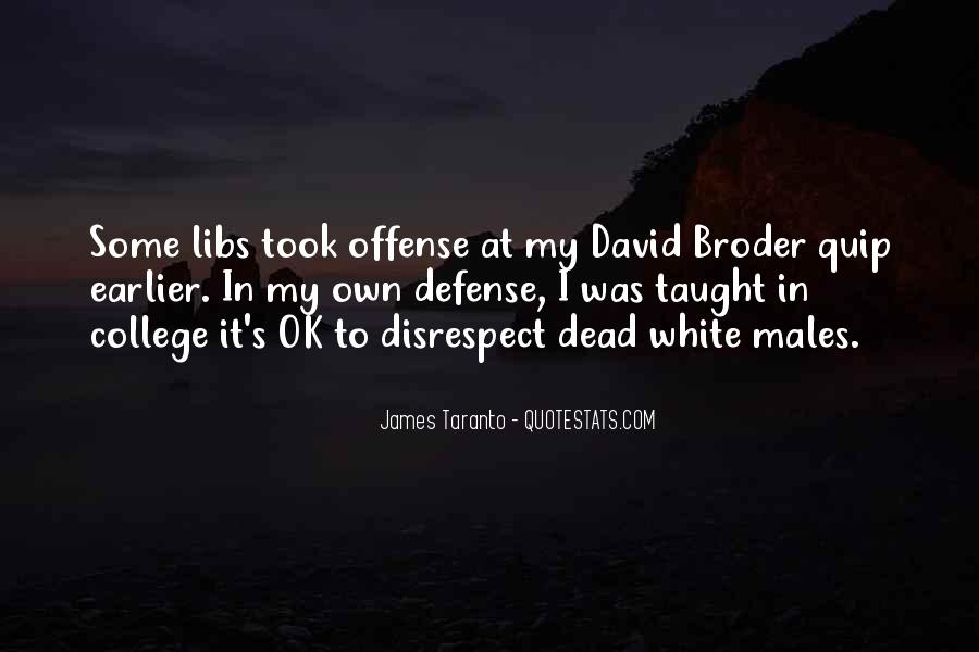 Quotes About Offence #302389