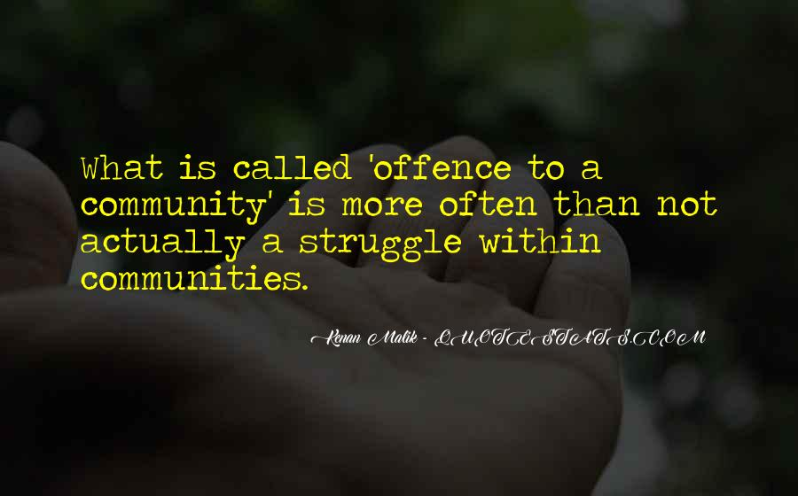 Quotes About Offence #365426
