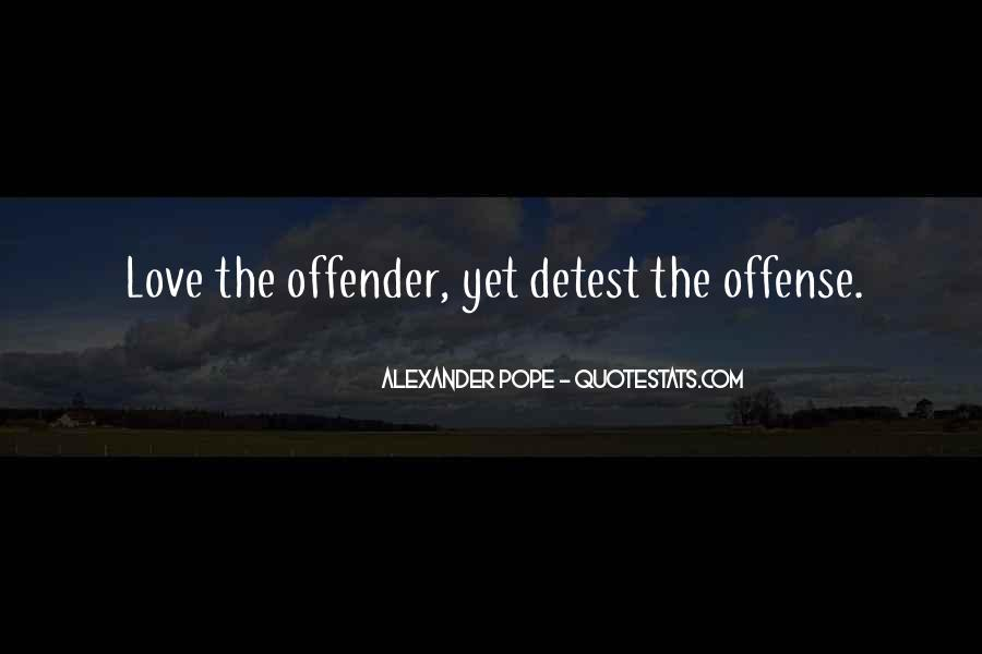 Quotes About Offence #401499