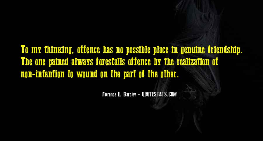 Quotes About Offence #565652