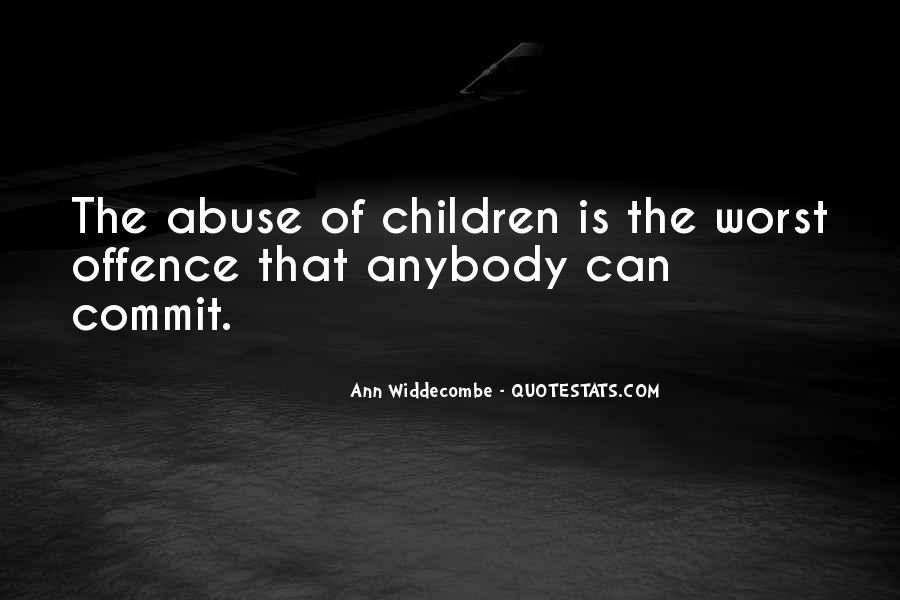 Quotes About Offence #654029