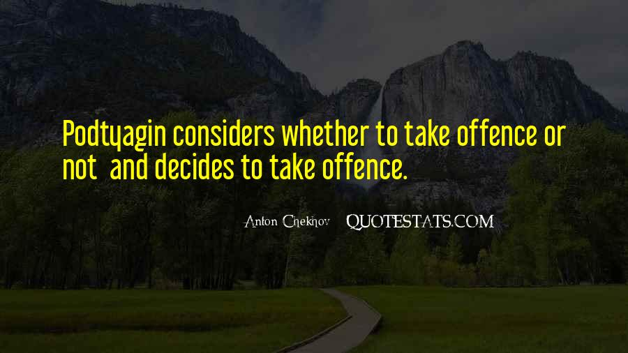 Quotes About Offence #944994