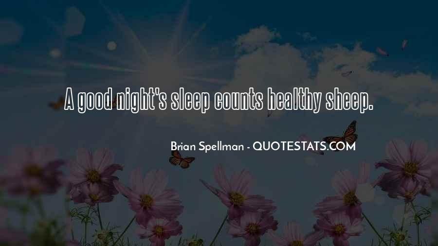 Quotes For Night Sleep #146603
