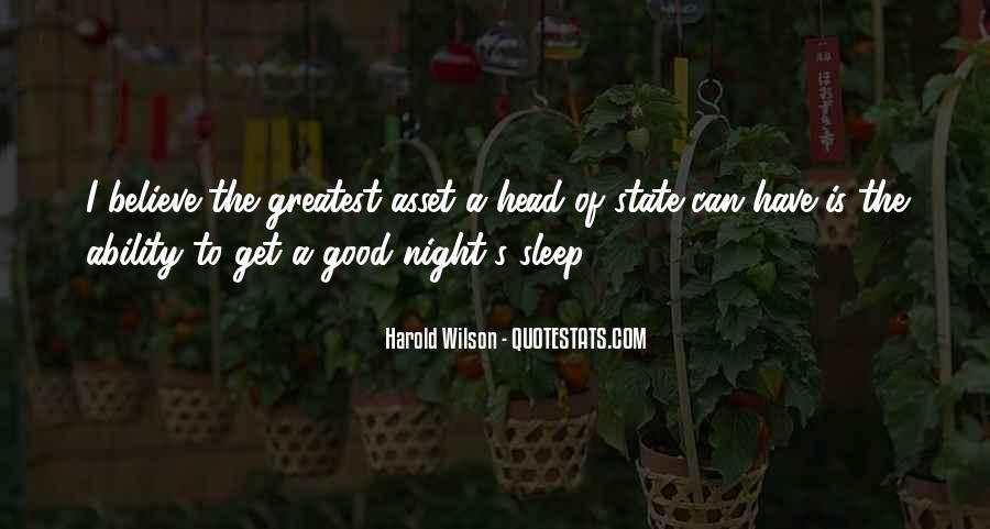 Quotes For Night Sleep #155953