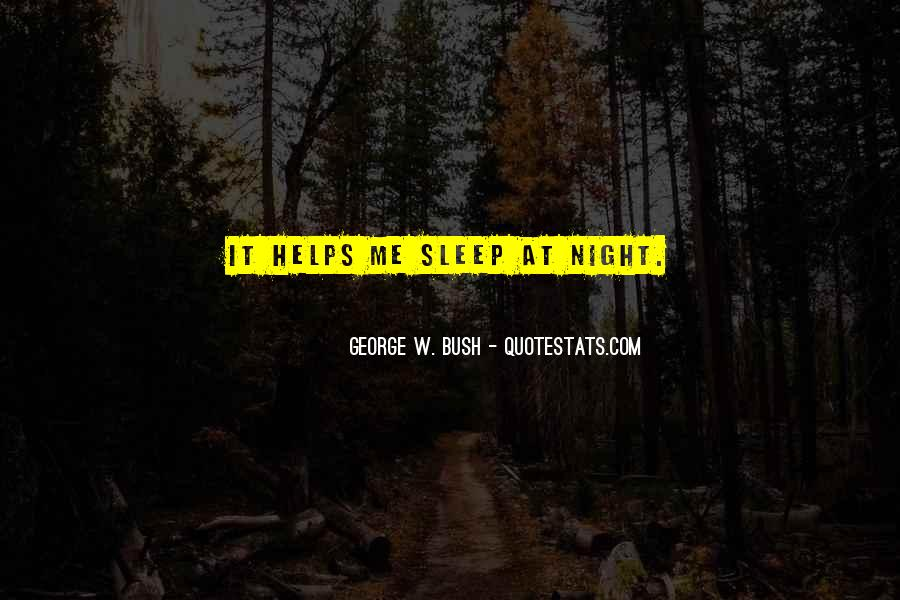 Quotes For Night Sleep #158142