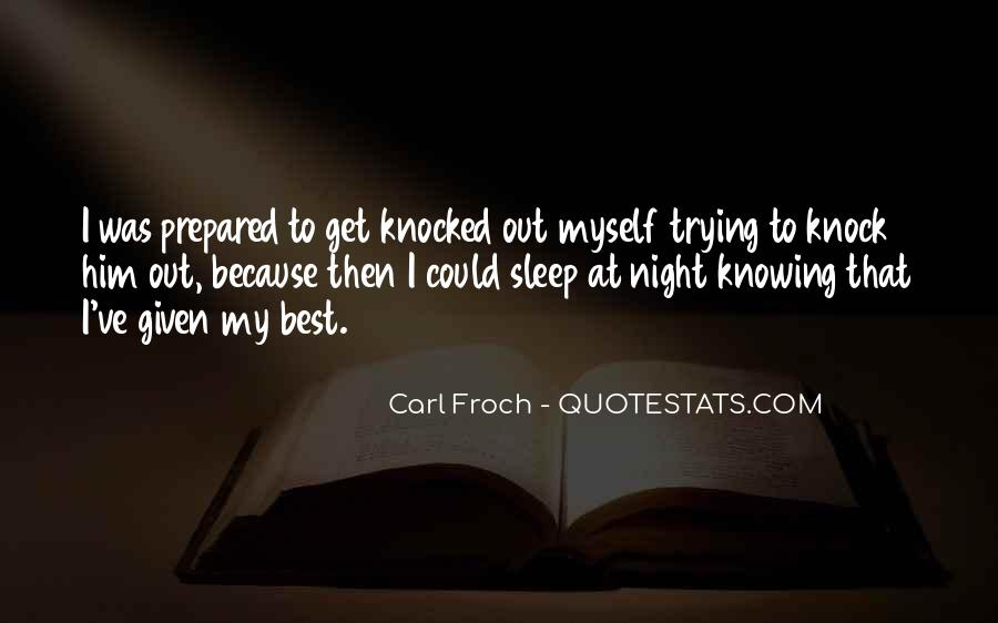 Quotes For Night Sleep #36913