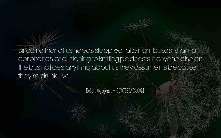 Quotes For Night Sleep #44447