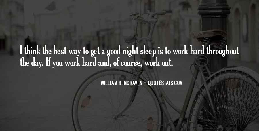 Quotes For Night Sleep #97633