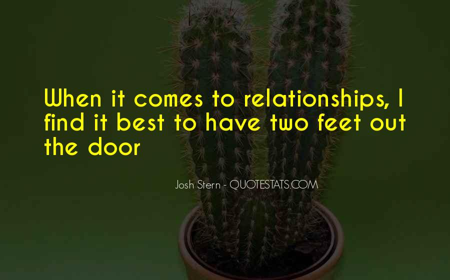 Quotes About Off And On Relationships #1757