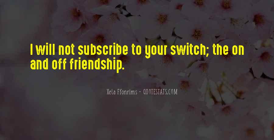 Quotes About Off And On Relationships #1810273