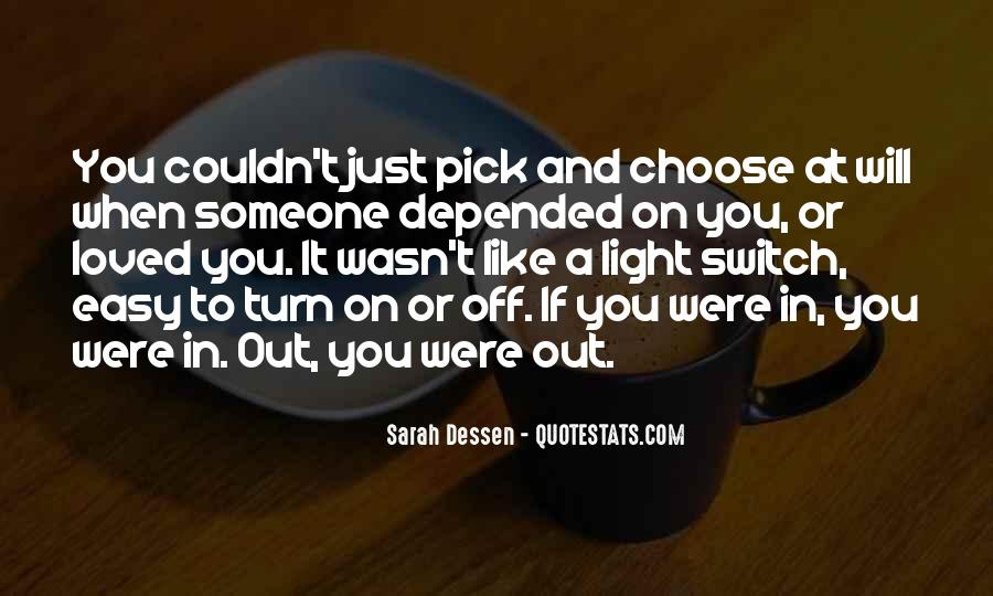 Quotes About Off And On Relationships #639020