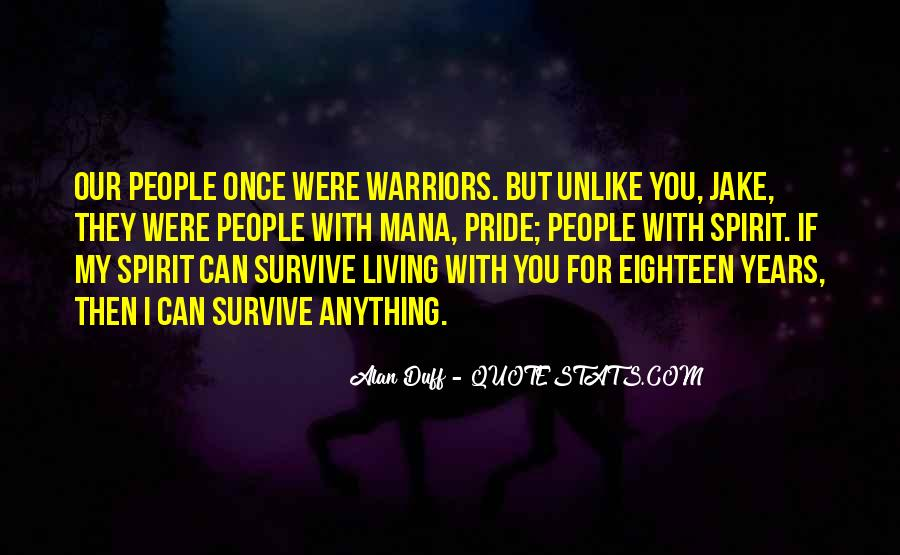 Quotes For Once Were Warriors #1490159