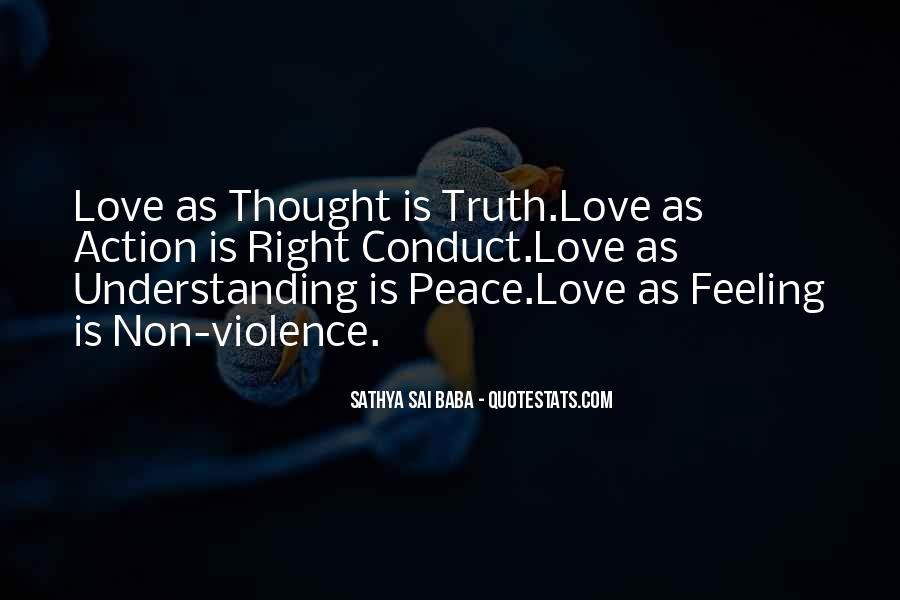 Quotes For Peace And Understanding #204043