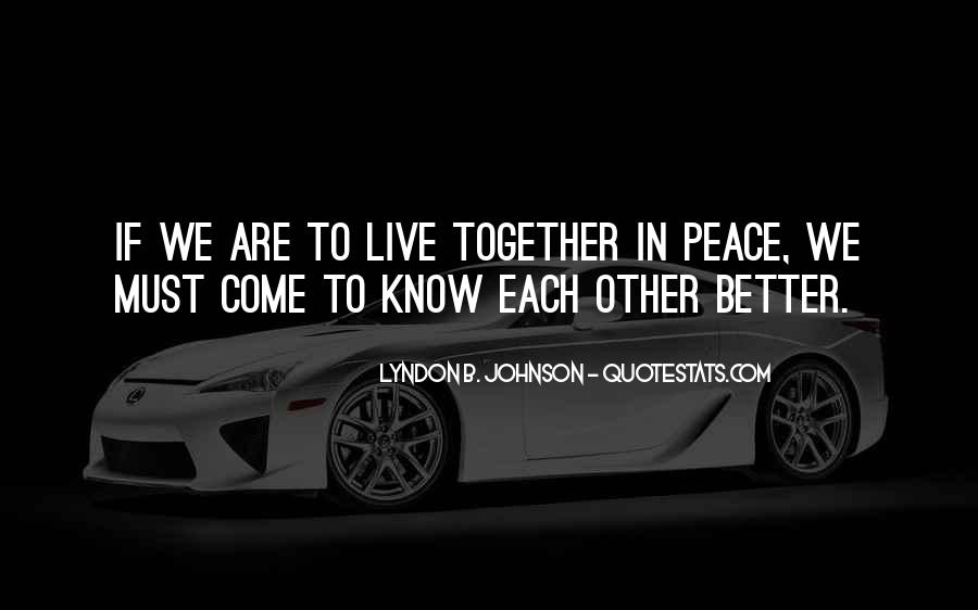 Quotes For Peace And Understanding #246083