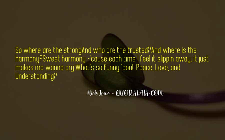 Quotes For Peace And Understanding #287056