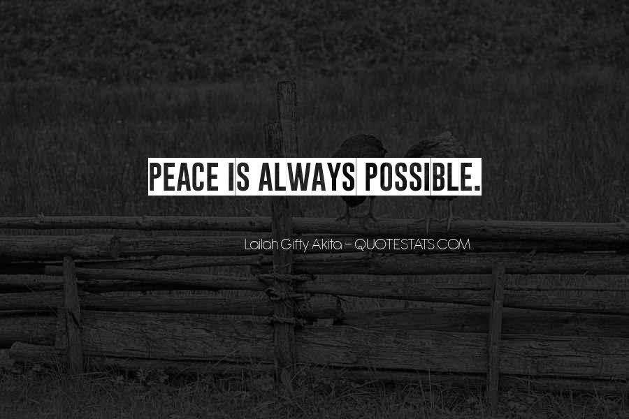 Quotes For Peace And Understanding #332015