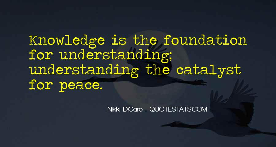 Quotes For Peace And Understanding #359020
