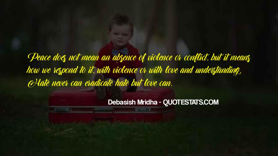 Quotes For Peace And Understanding #36326