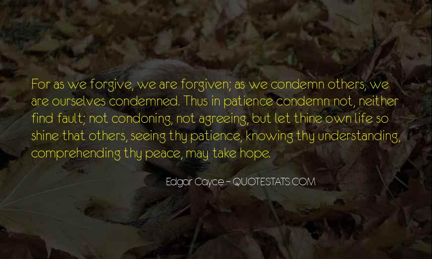 Quotes For Peace And Understanding #418698