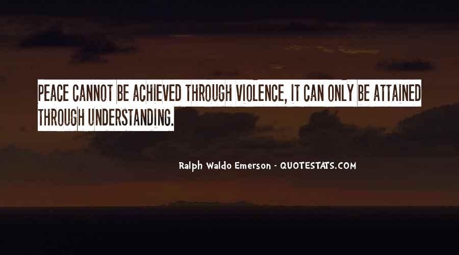 Quotes For Peace And Understanding #498445