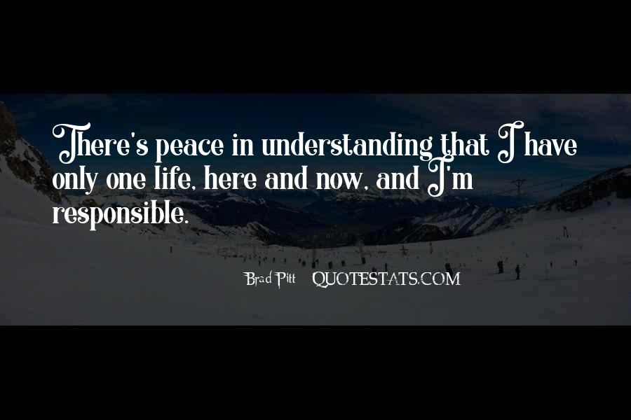 Quotes For Peace And Understanding #509923