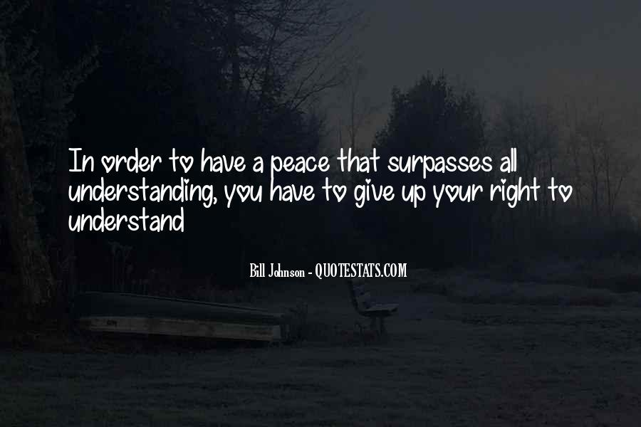 Quotes For Peace And Understanding #548069