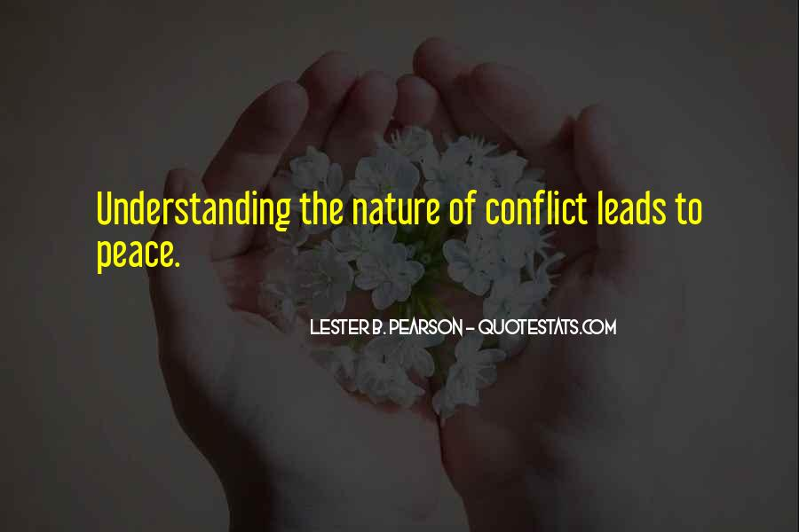 Quotes For Peace And Understanding #552494