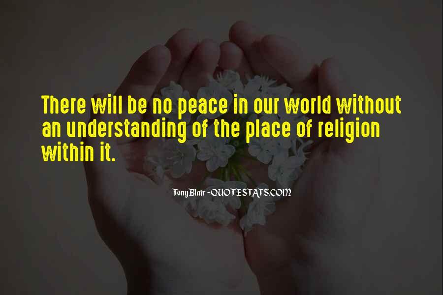Quotes For Peace And Understanding #567710