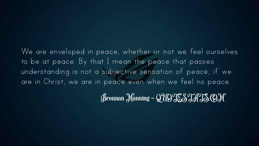 Quotes For Peace And Understanding #624509
