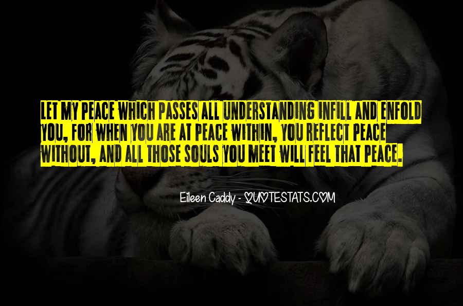 Quotes For Peace And Understanding #725686