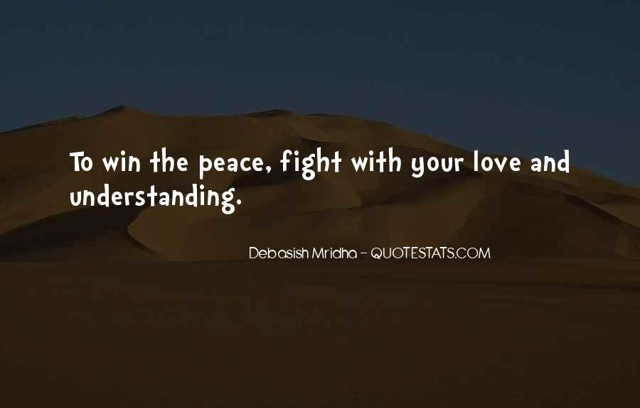 Quotes For Peace And Understanding #834897