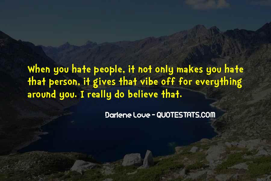 Quotes For Person U Hate #113065