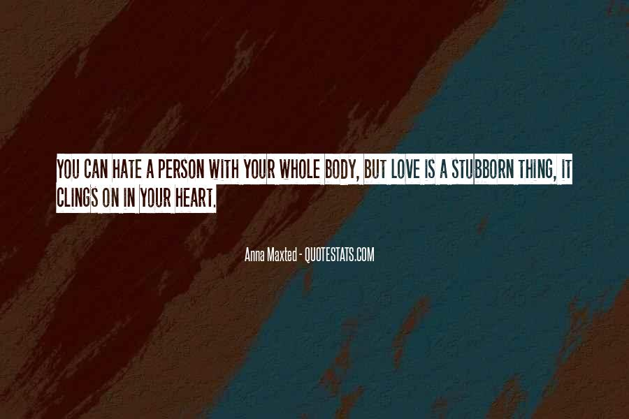 Quotes For Person U Hate #160124