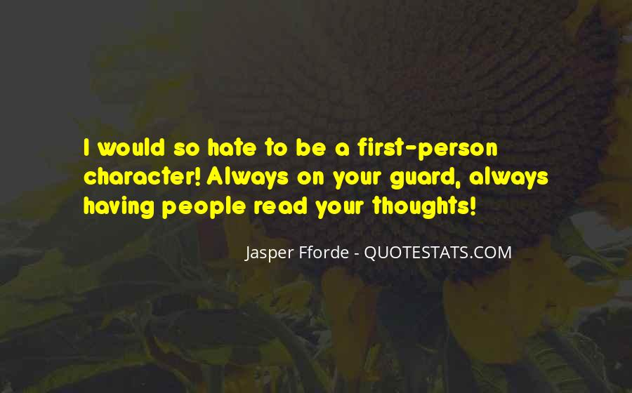 Quotes For Person U Hate #23857