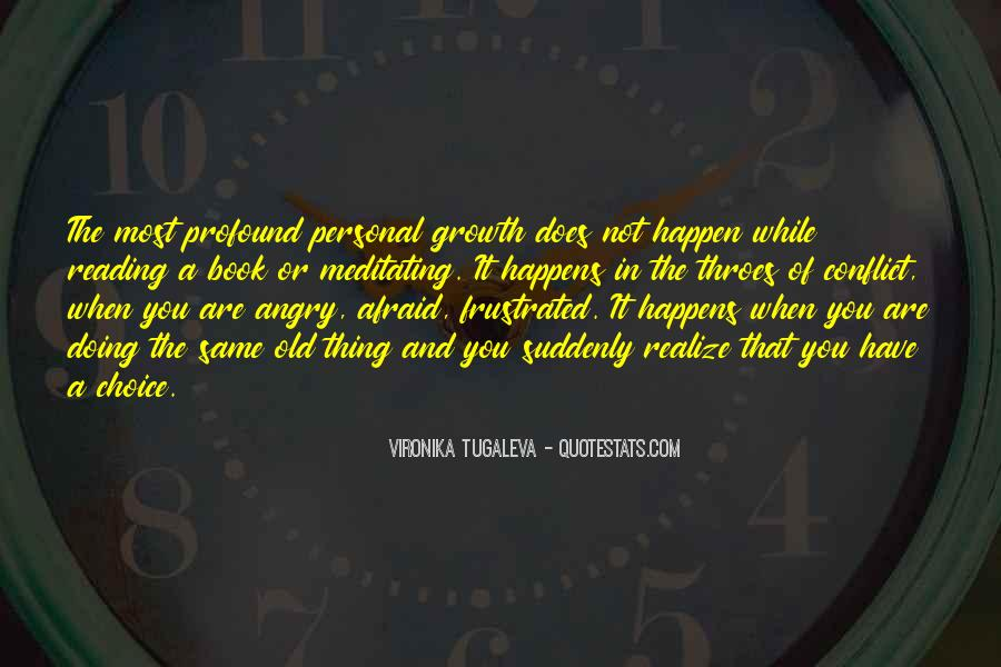 Quotes For Personal Growth And Self Knowledge #1153456