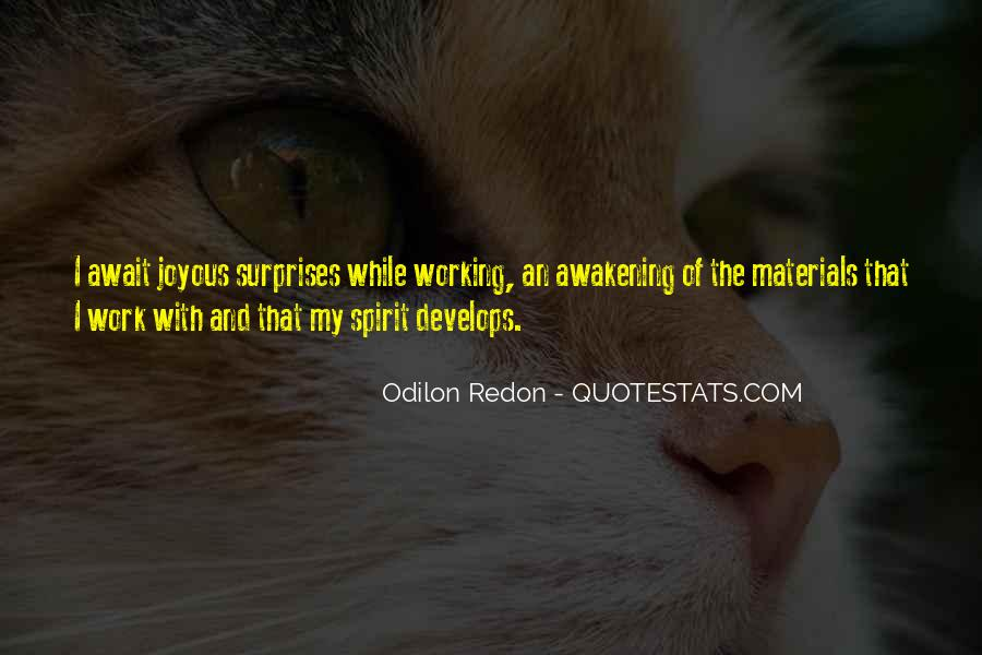Quotes About Odilon #1255119