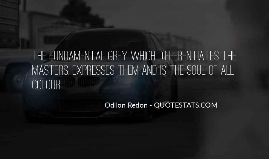Quotes About Odilon #1263874