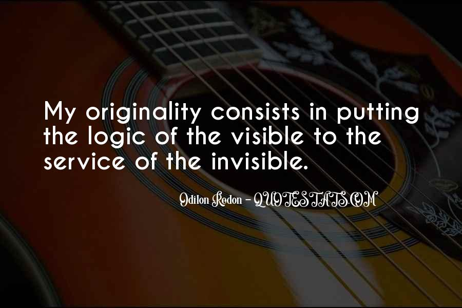 Quotes About Odilon #1508260