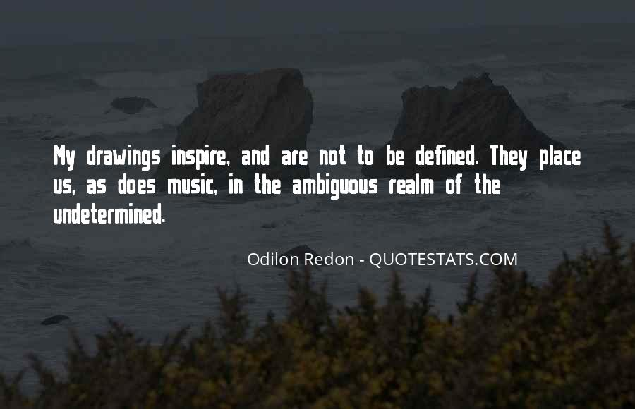 Quotes About Odilon #1717556