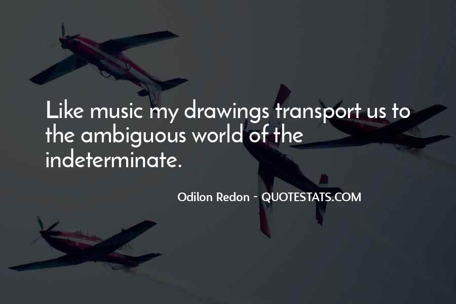 Quotes About Odilon #1731576