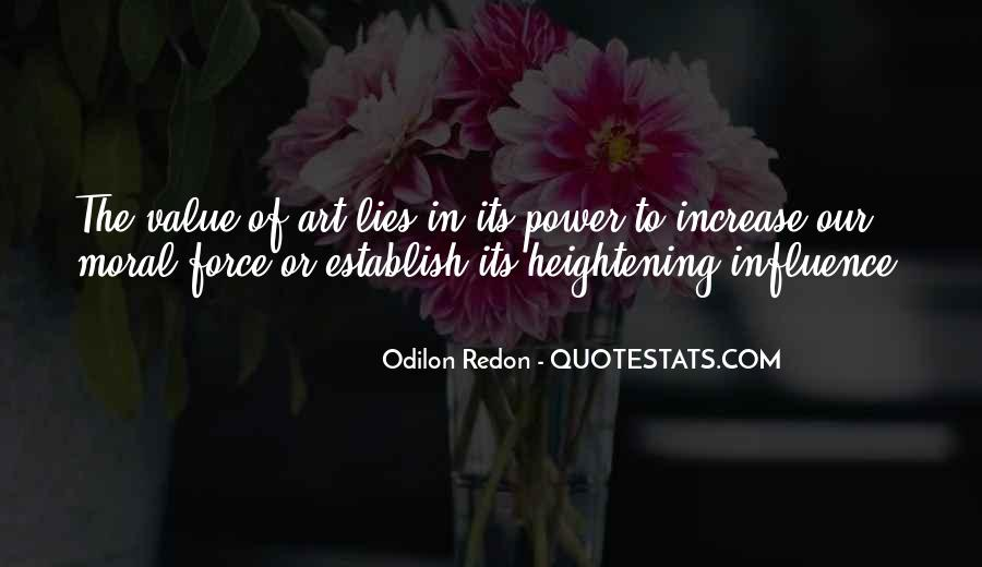 Quotes About Odilon #331200