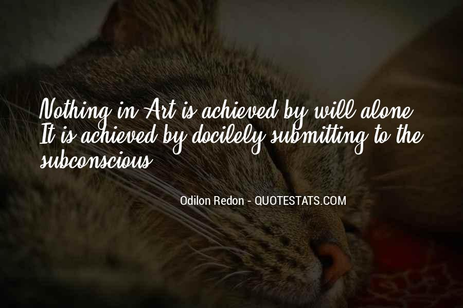 Quotes About Odilon #723384