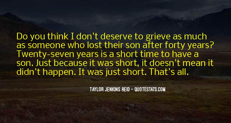 Quotes For Someone Who Lost Her Son #296461