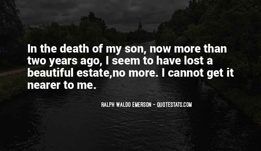 Quotes For Someone Who Lost Her Son #46164